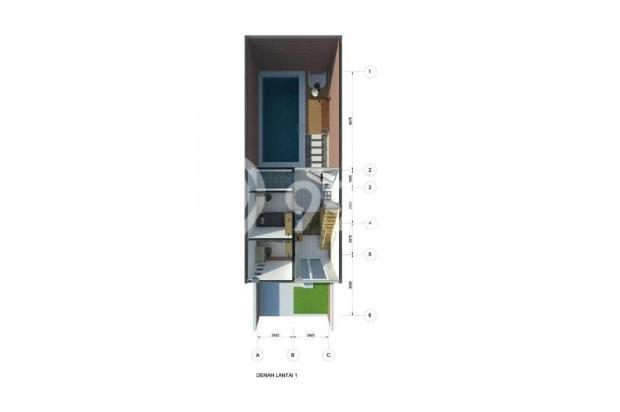 Rumah 2 Lantai dengan Fasilitas Kolam Renang Pribadi Di Bandung Murah 13245023