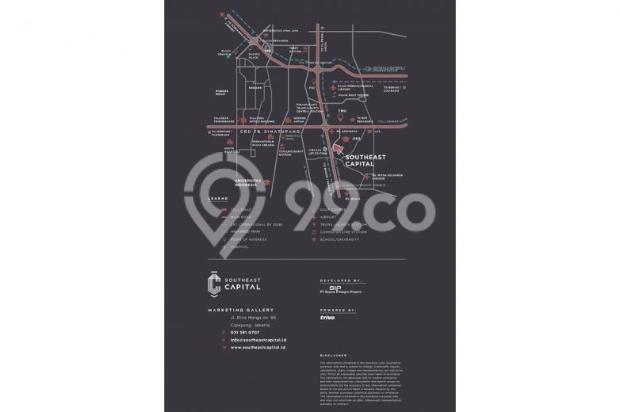 Dijual Apartemen Murah Tipe Studio Plus di Southeast Capital Jakarta 10283663
