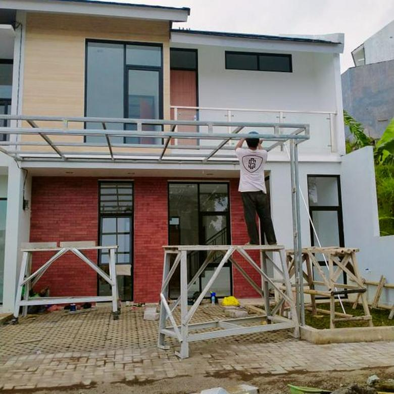 Rumah Rasa Villa Kawasan Sejuk Skema Syariah Dekat Kampus Stikes Rajawali di Cihanjuang Parompong Bandung