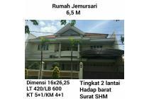 Dijual Rumah jemursari Surabaya murah SHM nego