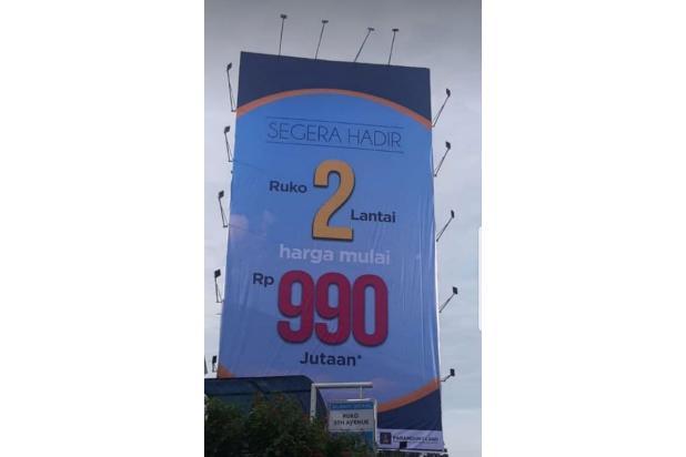 Rp1,09mily Ruko Dijual
