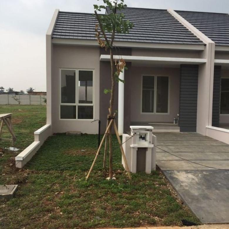 Rumah siap huni di Cluster Abira Suvarna Sutera, Cikupa
