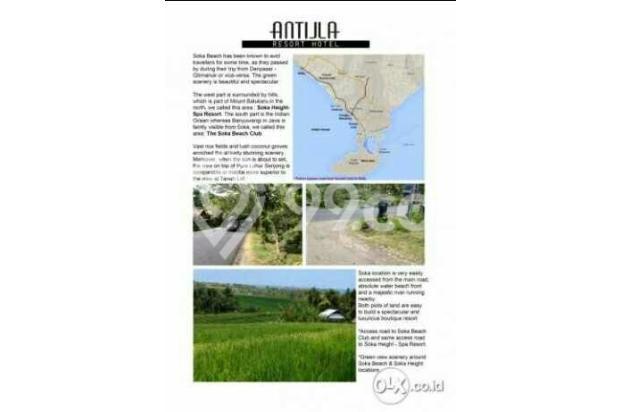 Tanah Loss Pantai di Pantai Soka 4Ha Konsep Resort 4443417