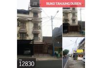 Ruko Tanjung Duren, Jakarta Barat, 4,5x24m, 5 Lt, SHM