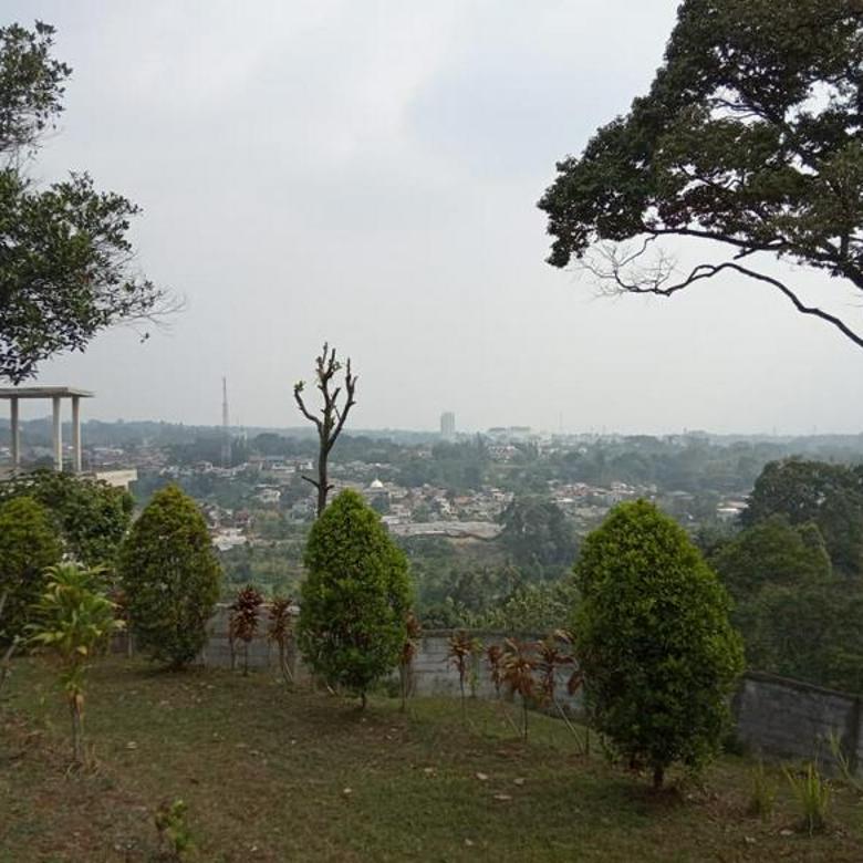 Lahan Strategis Bonus Bangunan di Gadog Bogor