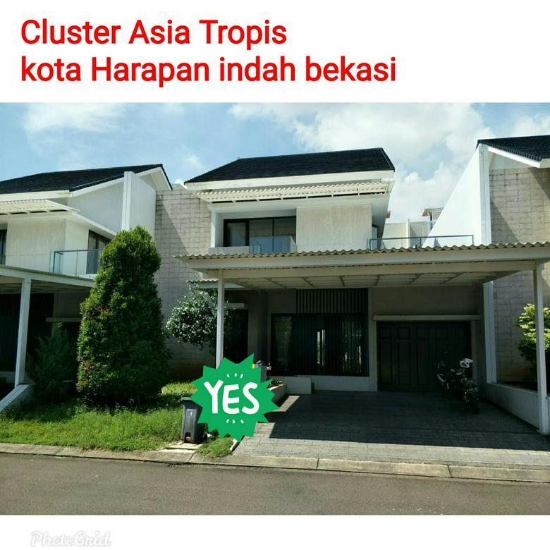 Rumah Siap Huni Asia Tropis Harapan indah bekasi