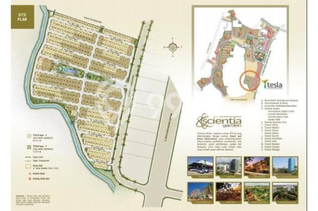 Dijual Rumah Strategis di Summarecon Serpong Culster Tesla Tangerang 6486000