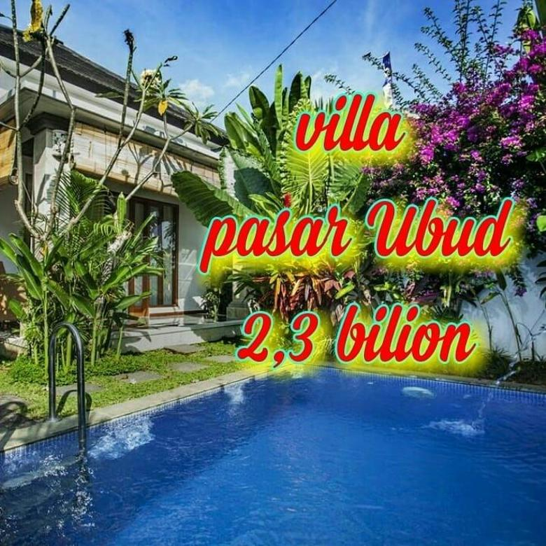 Dijual Murah VilaMewah 5mnt Kepasar Ubud ViewSawah Fulfurnised