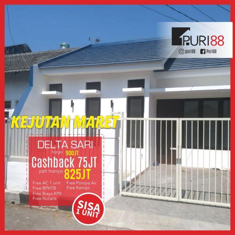 458. Rumah murah Puri 88 @Deltasari cluster Zamrud Waru Sda