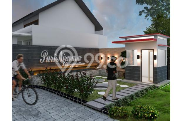 rumah dijual desain modern 200 jutaan bisa KPR 14317656