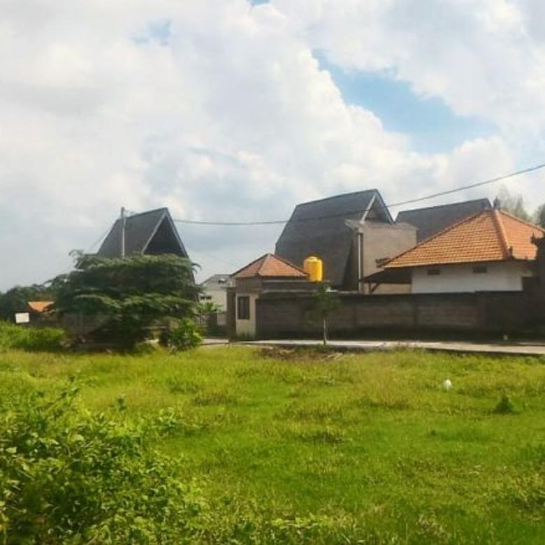 Tanah sewa lingkungan villa view sawah tibubeneng canggu dekat brawa