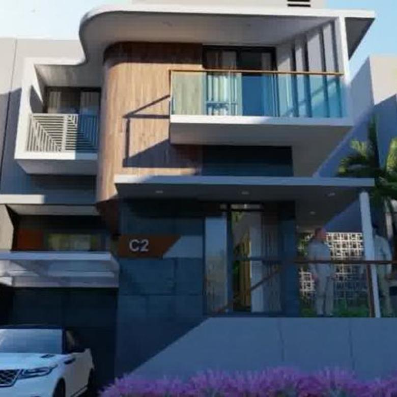 Rumah Bonus Kolam Renang Grahawangi Daerah Parongpong Cimahi