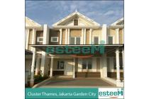 Rumah Brand New, Cluster Thames, Jakarta Garden City, Jakarta Timur