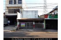 Tempat Usaha Cocok Untuk Ruko 3 Lantai di Kalibokor Selatan
