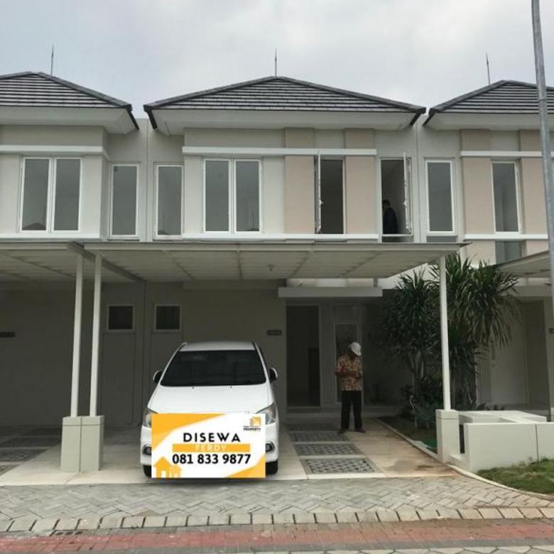Disewakan Rumah Baru Grand Pakuwon Surabaya Barat