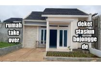 rumah over kredit 60 juta bisa di cicil deket stasiun bojong