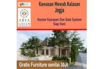 Perumahan Modern di Jogja, Dekat Adisucipto: Bonus Furniture