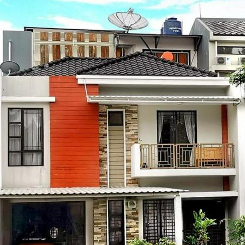 Rumah Green Lake City Asia Hoek 9x18 Full Furnished, Duri Kosambi, Jakarta Barat