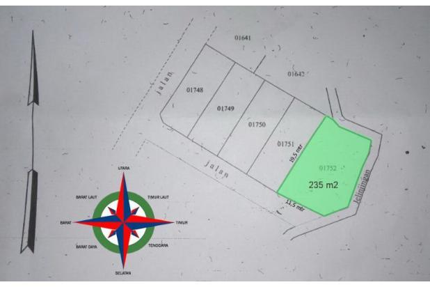 Rp940jt Tanah Dijual