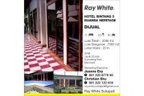 Dijual Hotel Bagus Luas Strategis di Ahmad Yani Bandung