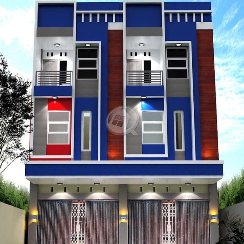 Ruko tepi jln kotabaru / jl prof . m yamin 3,5 lantai full beton