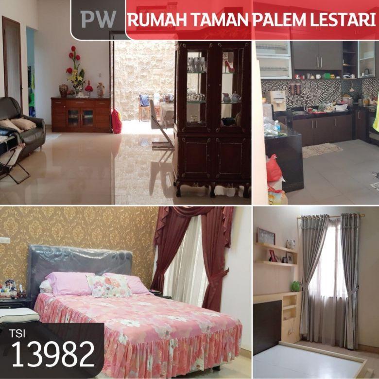 Rumah Taman Palem Lestari, Jakarta Barat, 10x20m, 2Lt, SHM