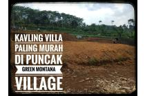 Tanah kavling murah cocok untuk villa di cugenang cipanas cianjur