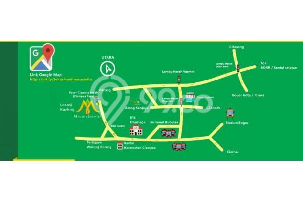 Kavling siap huni lokasi strategis ciampea, Bogor kpr syaroah 16845650