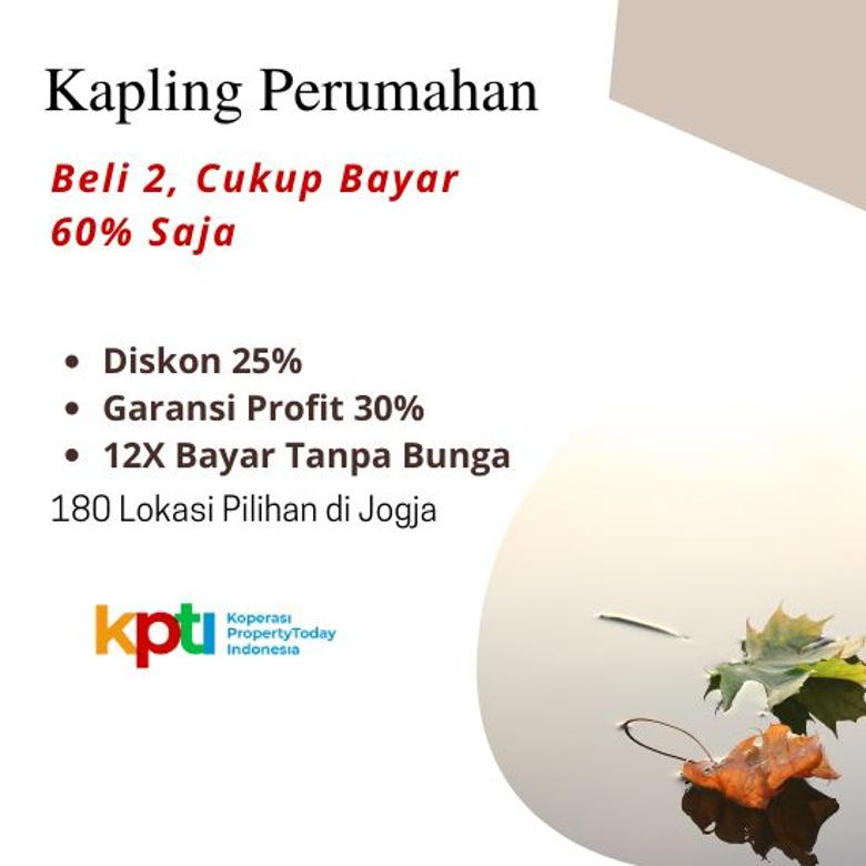 Miliki Kavling Premium Dalam Ringroad PROMO Diskon 25%