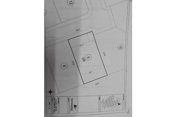 Rp845jt Tanah Dijual