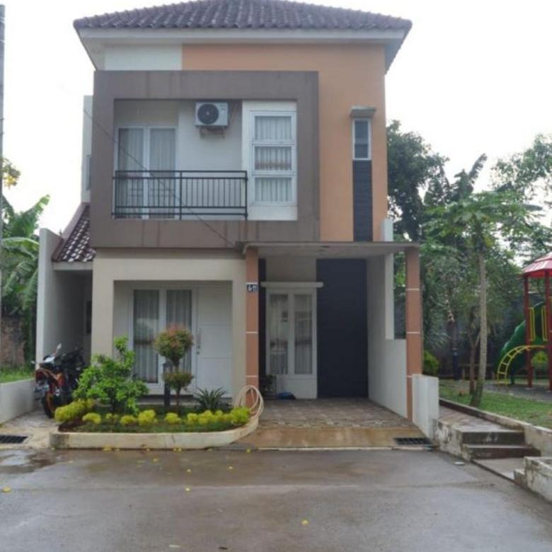 Rumah 2 lantai dekat Jakarta timur Siap huni, bisa PR Syariah
