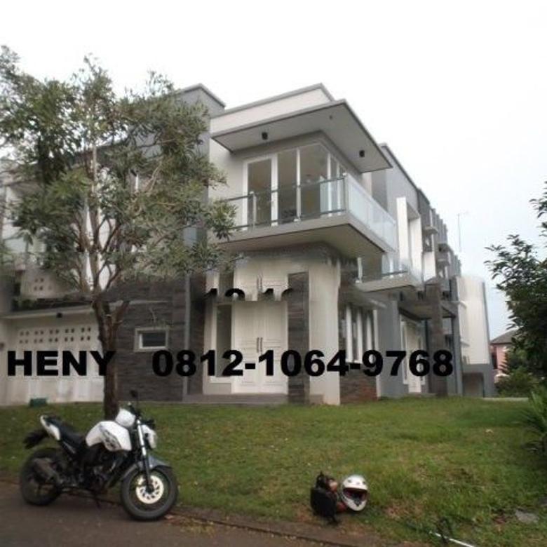 Dijual Rumah Nyaman di BSD De Latinos, Tangerang Selatan