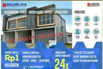 Dijual Gudang Bizland Jaya lokasi strategis di Cikupa Tangerang