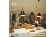 Apartment LLOYD 5 lantai lowrise alam sutera tangerang banten