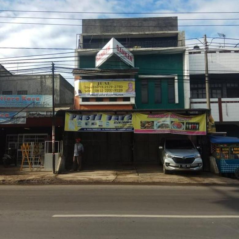 Jual Ruko 2 lantai Jl Raya Tagog Padalarang