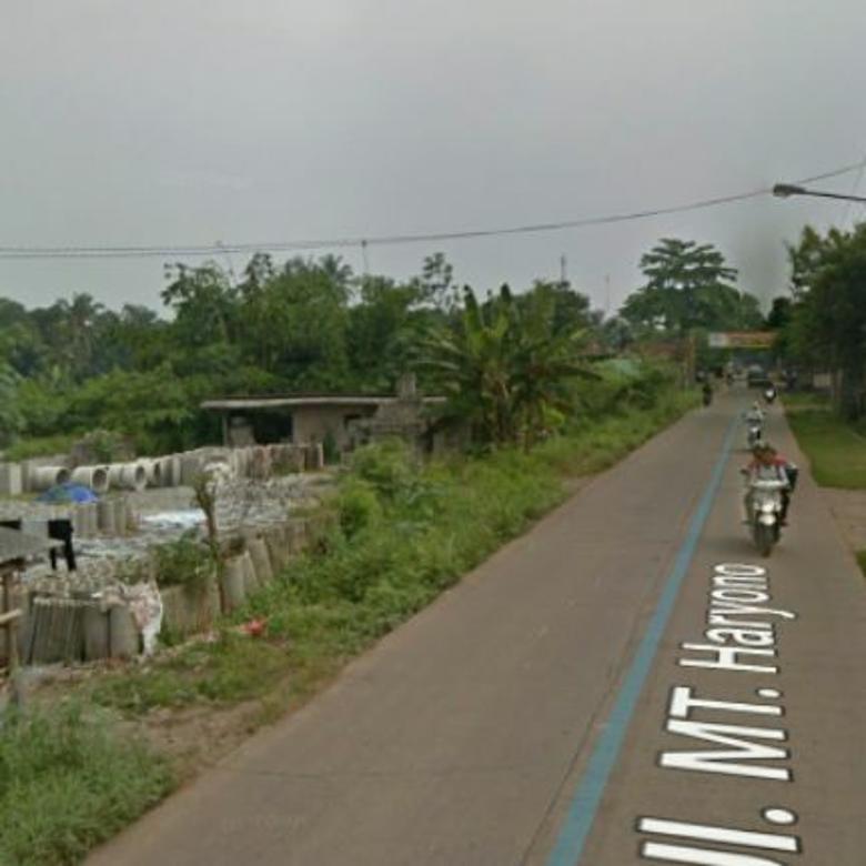 Bismillah ,di jual tanah di pinggir jalan utama Mt haryono setu bekasi