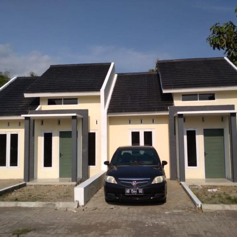 rumah baru, minimalis modern bisa KPR