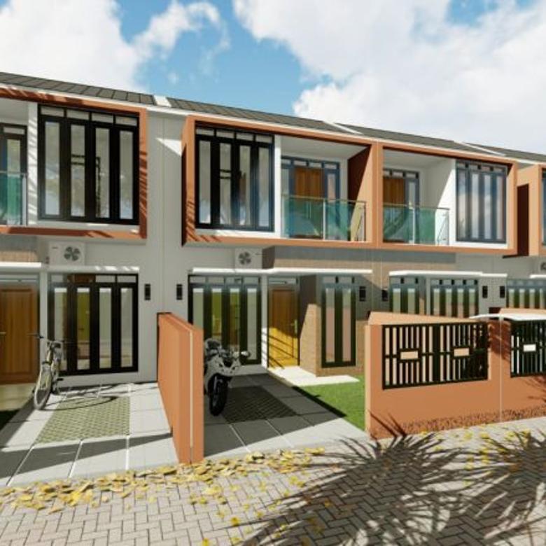 Free Canopy, pagar Dan waterheater Rumah Baru Dekat Jatinangor