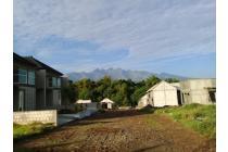 rumah cluster idaman bernuansa villa berpanorama pegunungan yang sejuk