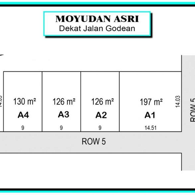 Kapling Murah Area Moyudan Sleman, Angsur 12x Tanpa Bunga