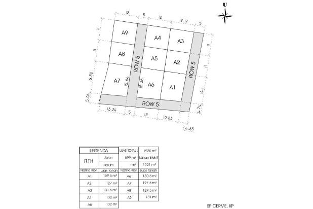 Rp92,4jt Tanah Dijual