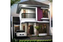 promo rumah modern 2 lantai murah di kerinci town house sawojajar malang