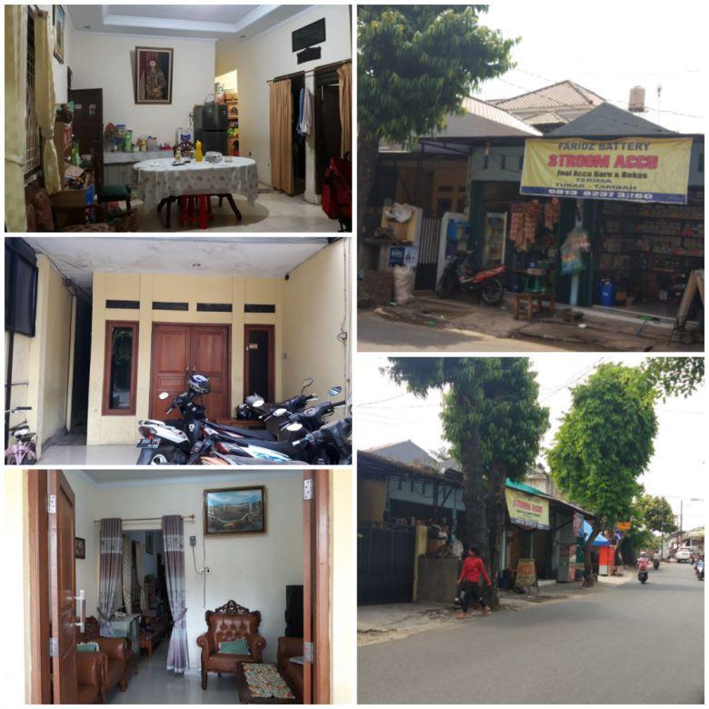 Rumah Plus 2 Kios di Jl. Raya Gonseng Pasar Rebo Jakarta Timur