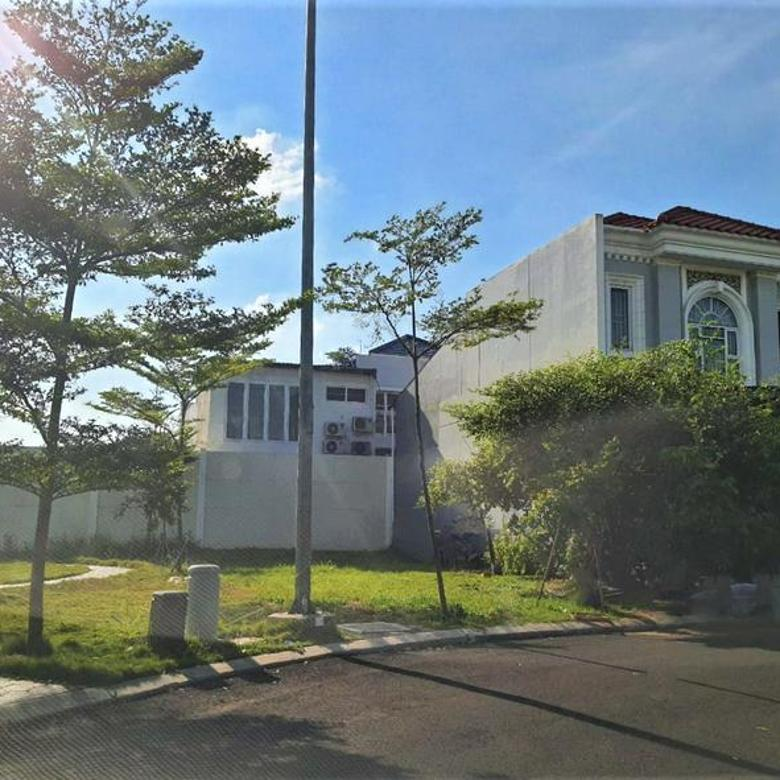 RECOMMENDED Kavling Badan perumahan hadap Timur sebelah penghijauan 107m Cluster La SEINE JGC Jakarta Garden City Cakung