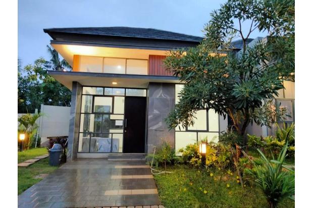 rumah modern minimalis dekat serpong