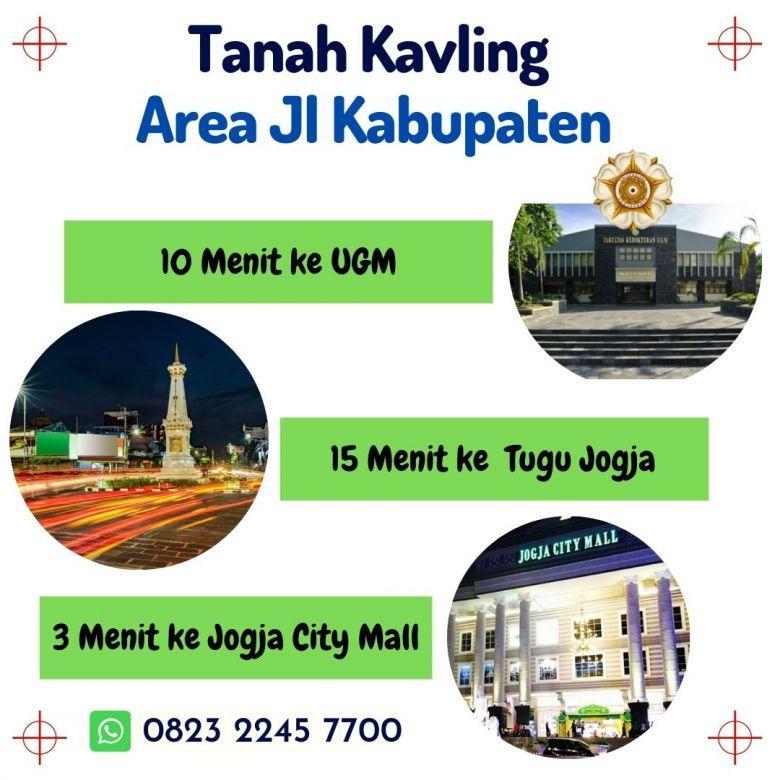Area Dalam Ringroad, Akses dari Jl Kabupaten, Cicil 12x