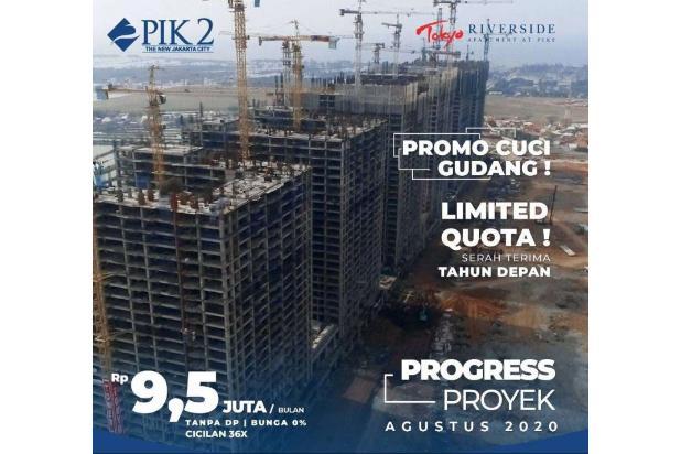 Rp531jt Apartemen Dijual