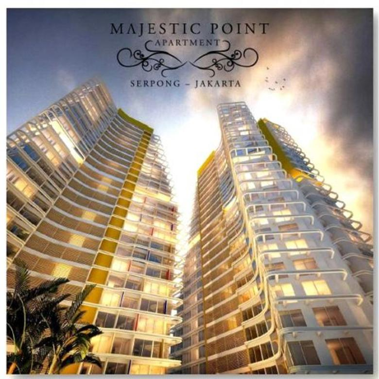 Apartemen Majestic Tipe Studio, Tower Khan Lantai 10 View Taman