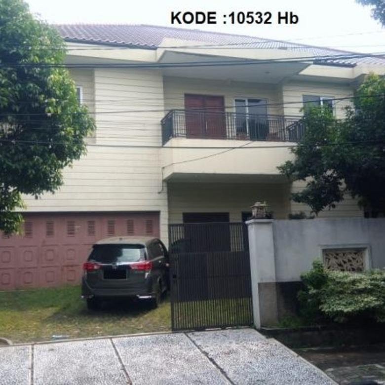 KODE :10532(Hb) Rumah Dijual Cempaka Putih, Luas 26x30 Meter