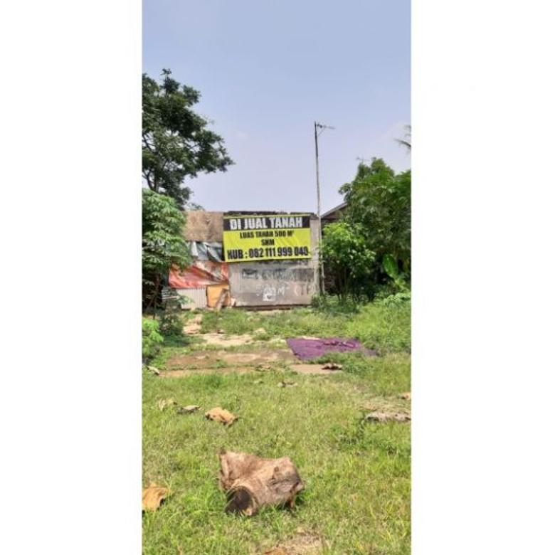 Dijual Tanah Luas 500 meter di Komplek BPPB Pasir Mulya Bogor